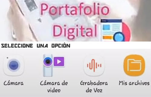 Experiencias de aprendizaje utilizando un portafolio digital móvil